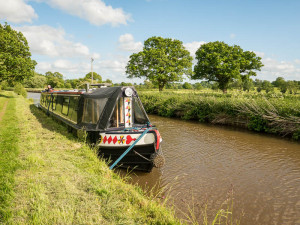 A pleasant rural mooring near Marbury.