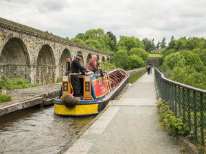 The Fuel Boat, Chirk Aqueduct.