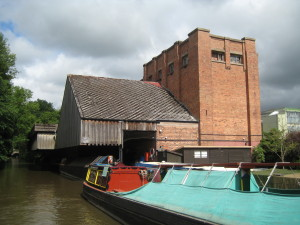 Cadbury's old milk dock