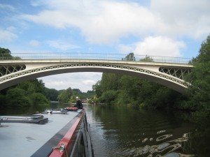 and went under some more great Telford bridges