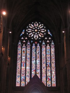 Worcester Cathedral's  West window